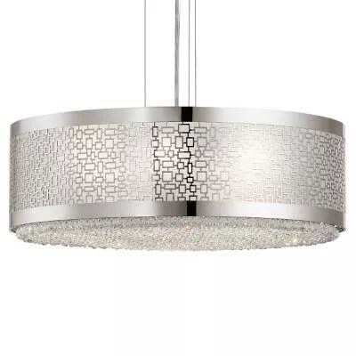 elan lighting massimo drum pendant