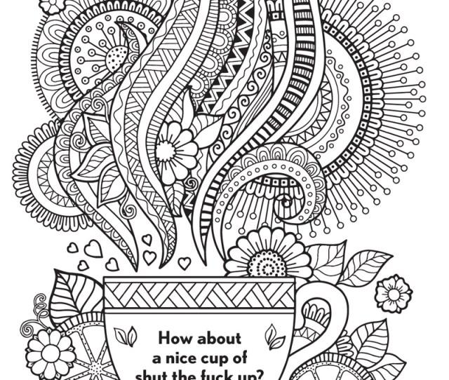 The Swear Word Coloring Book Hannah Caner Macmillan