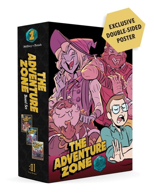 ADVENTURE ZONE GN BOX SET [v1-3] SC
