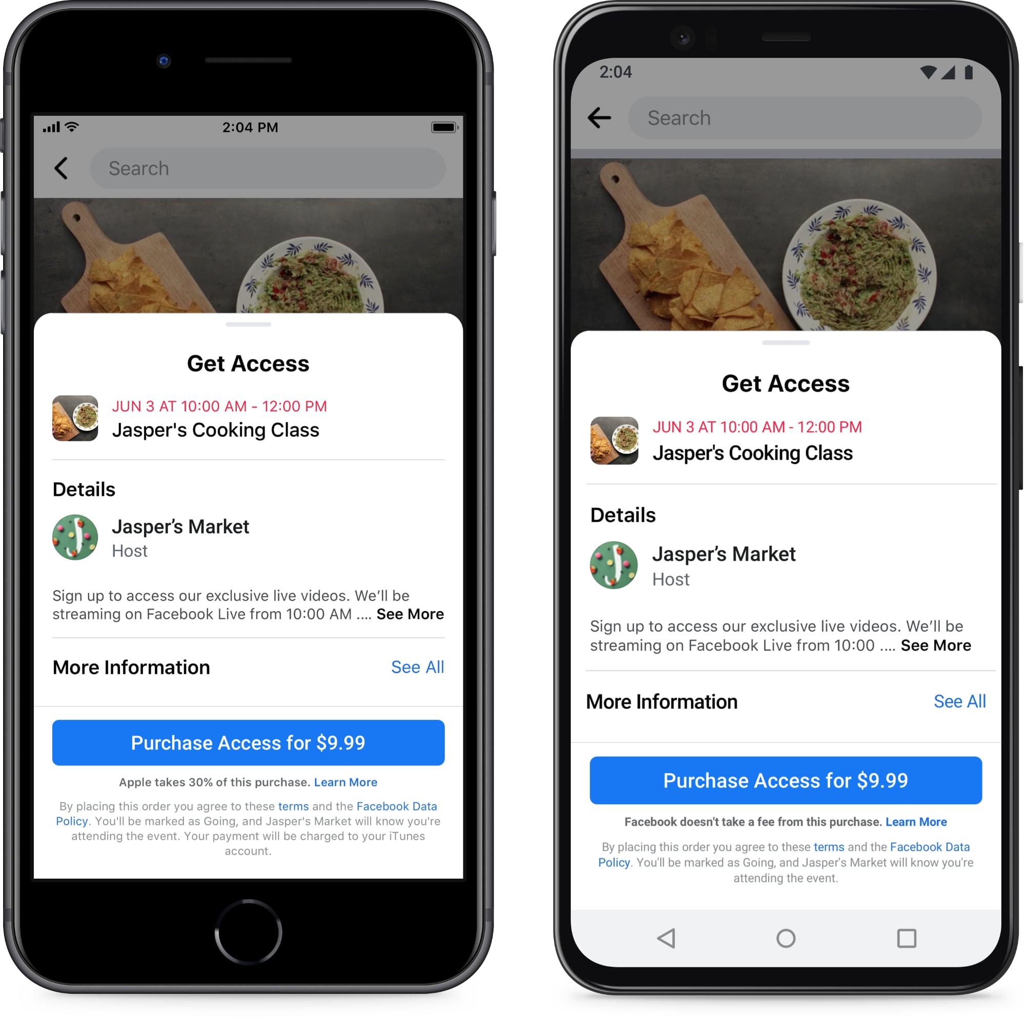 sur YT:  Facebook affirme qu'Apple nuit aux petites entreprises en percevant des frais auprès de  infos