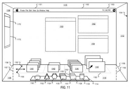 Pedido de patente da Apple. Via MacRumors