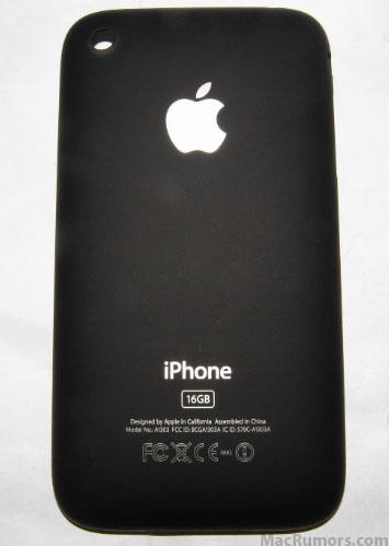 iPhone 3 von hinten?