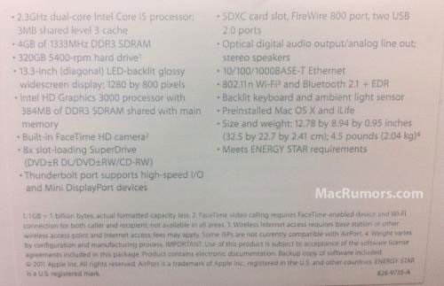 """13"""" MacBook Pro, so it's possible that the higher-end model will have"""
