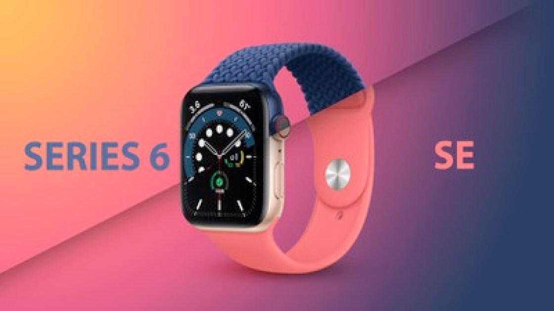 Apple Watch Series 6 frente a SE