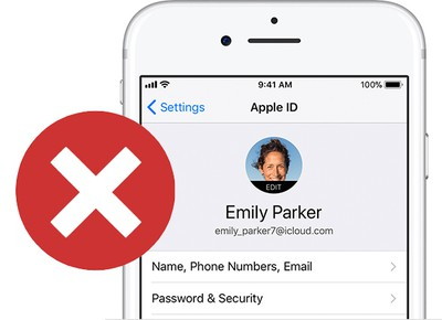 deactivate your apple id account