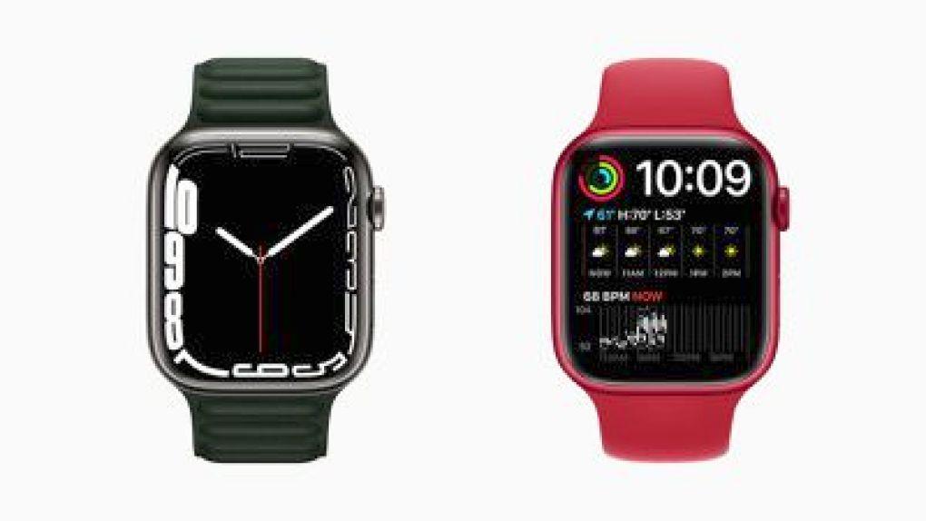 apple watch series 7 contour modular duo faces