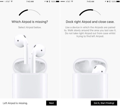 finder for airpods app can help you