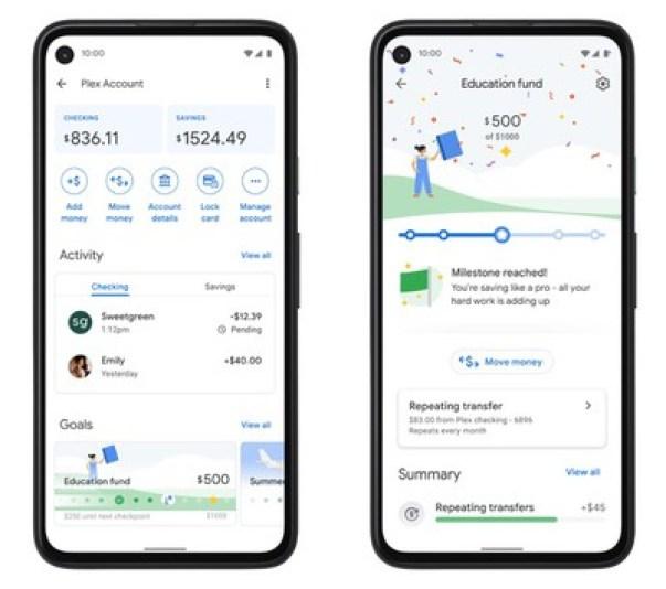 учетная запись google pay app plex