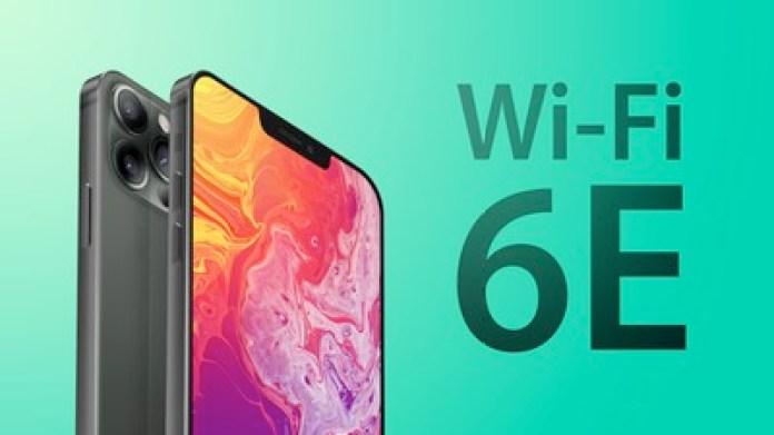 iPhone 13 Wi Fi 6E greener2