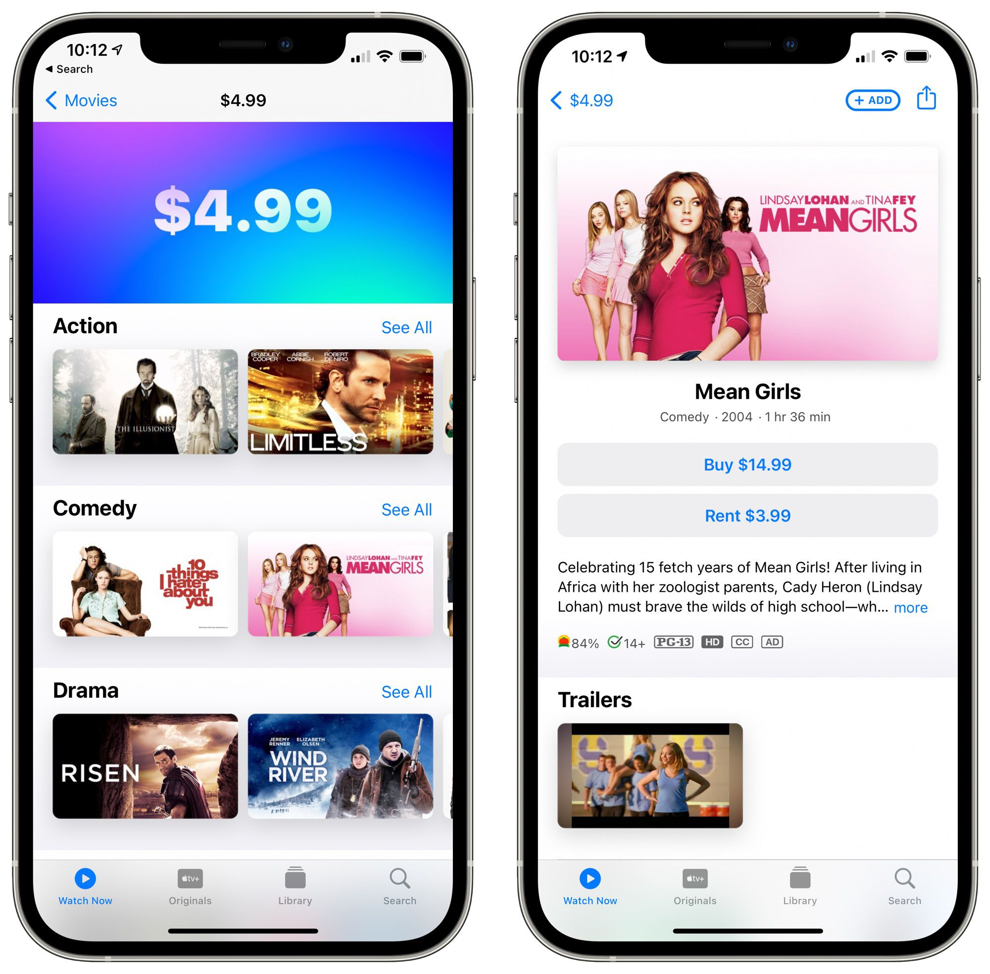 Apple's TV App Currently Has Misleading Pricing for Movies