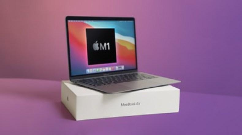 macbook air m1 unboxing feature