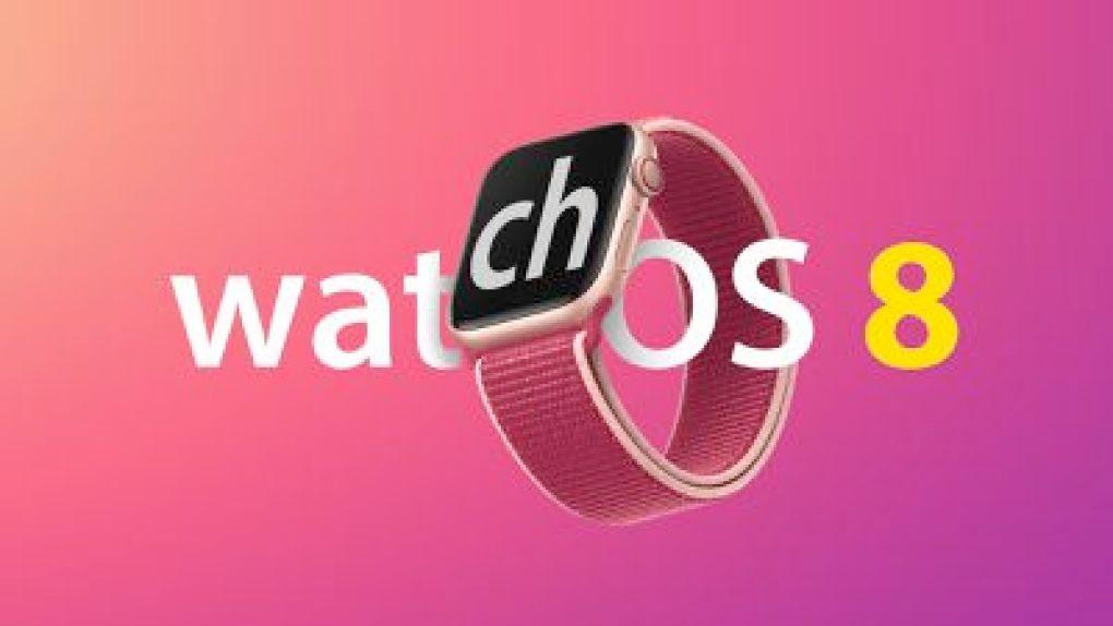 watchOS 8 on Apple Watch feature