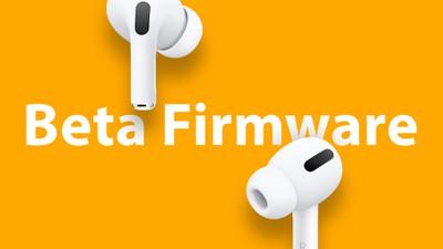 Firmware AirPods Pro Beta
