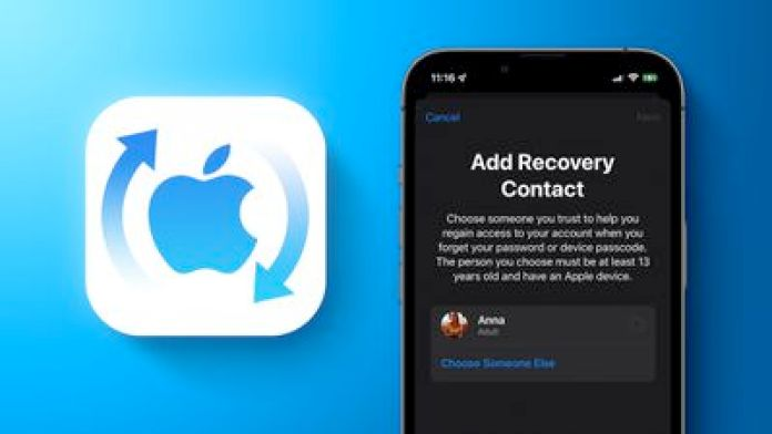 Recovery Contact Feature