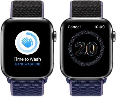 Apple watch7 handwash feature
