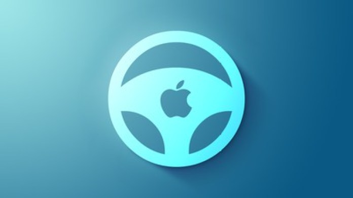 Apple car wheel icon feature blue