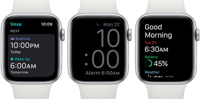 Apple Watch7 daily morning report