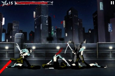Ninja Assassin for iPhone   Macworld Fact  This ninja totally flips out and kills people