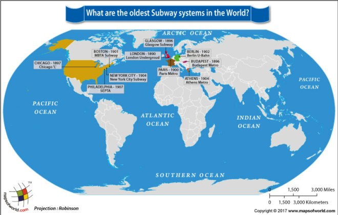 What are the Oldest Subway Systems in the World?