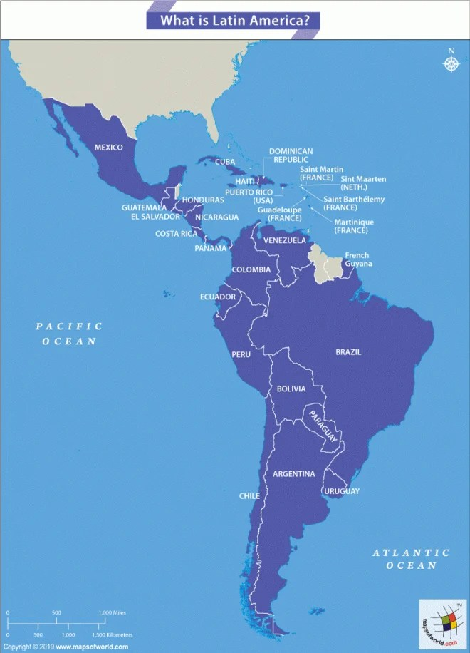 What Countries Together Comprise Latin America? - Answers