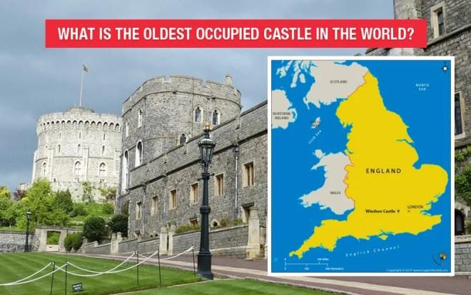 Location Map of Windsor Castle