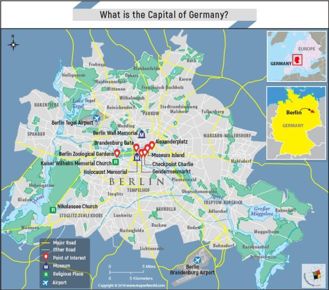 Capital Of Germany Map.What Is The Capital Of Germany Answers