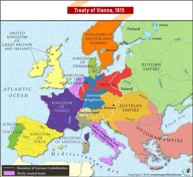 What is the Treaty of Vienna?   Answers