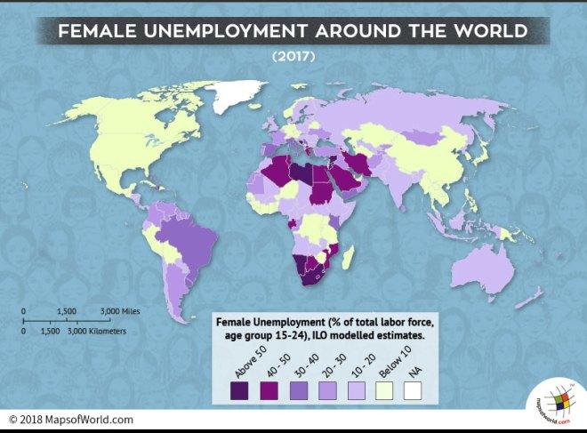 Female labor force participation rate