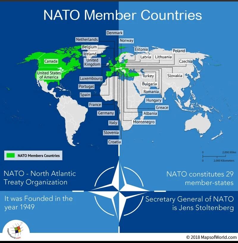 3/' x 2/' NATO Flag North Atlantic Treaty Organization Military World Peace Banner