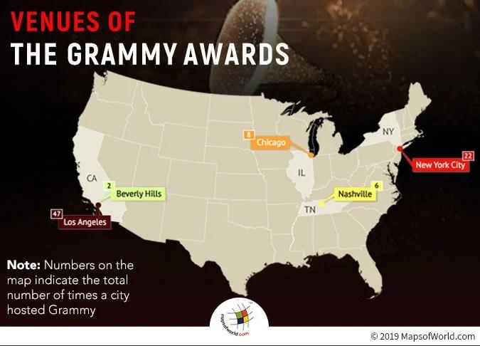 Grammy Awards Venues