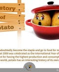 Potato has the Highest Production and Consumption across the World