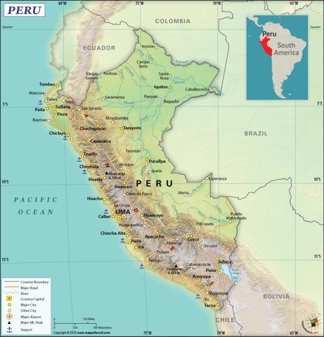 The Capital of Peru is Lima