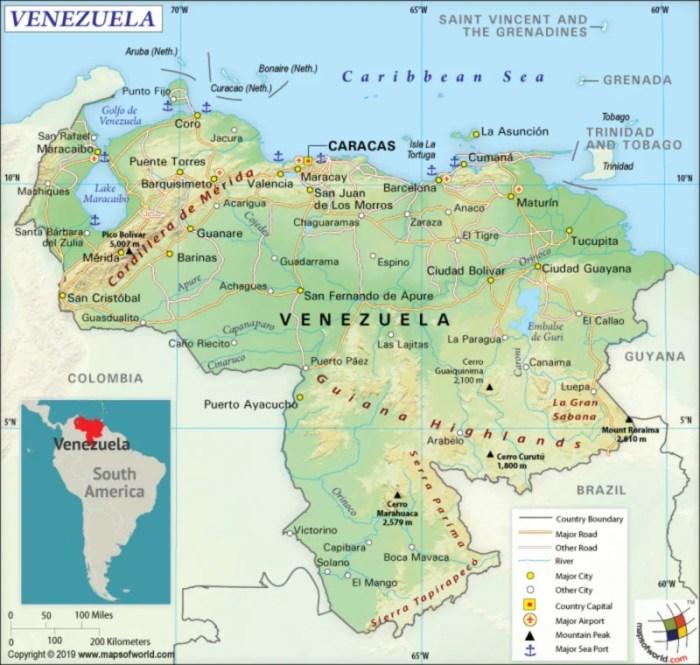 Venezuela Map