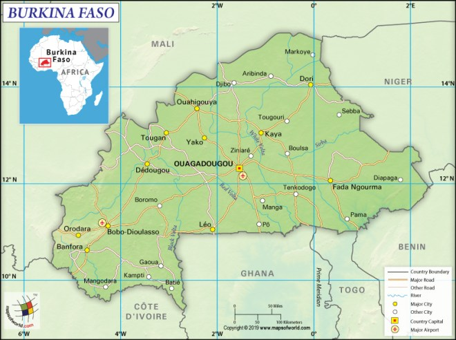 Burkina Faso - A West African Country