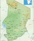 Republic of Chad Map