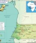 Map of Republic of Equatorial Guinea