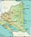 Map of Republic of Nicaragua