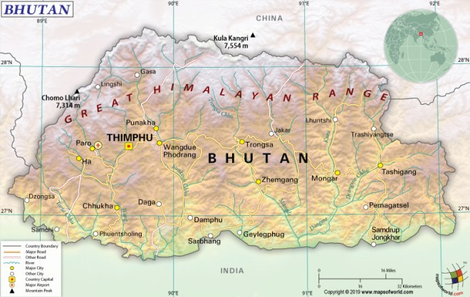 What are the Key Facts of Bhutan? | Bhutan Facts - Answers Map Of Bhutan on map of chile, united states of america, map of india, map of peru, map of sri lanka, map of japan, map of nepal, map of myanmar, map of k2, jetsun pema, map of china, map of middle east, map of iraq, map of singapore, map of tibet, south asia, sri lanka, map of brunei, map of philippines, map of liechtenstein, map of bangladesh, map of turkey, map of himalayas, map of asia,