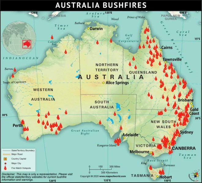History of Bushfires: Is Australia\'s Inferno the Epicenter ...