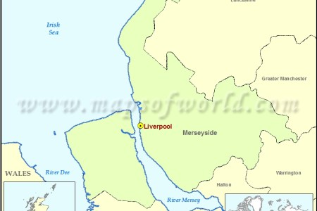 liverpool location on the uk map » ..:: Edi Maps ::.. | Full HD Maps