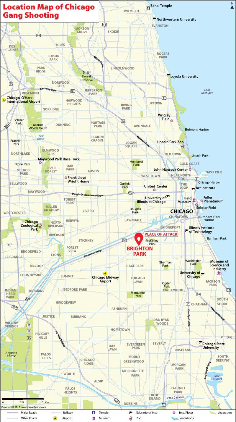 Chicago Police Gang Map