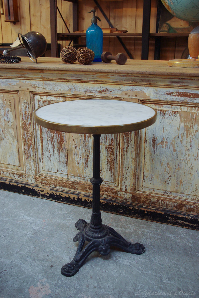 table bistrot le marchand d oublis