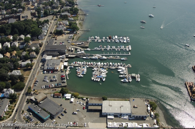 Pleasant Park Yacht Club In Winthrop Massachusetts