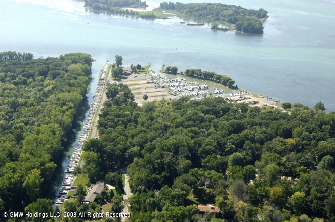 Ford Yacht Club In Grosses Ile Michigan United States