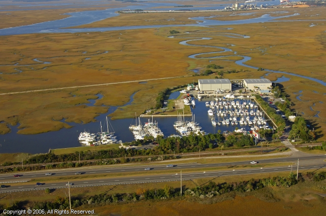 Amelia Island Yacht Basin In Amelia Island Florida