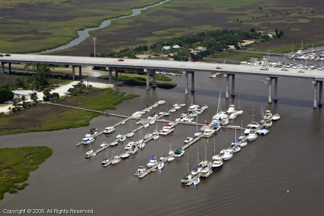 St Johns Yacht Harbor In Charleston South Carolina