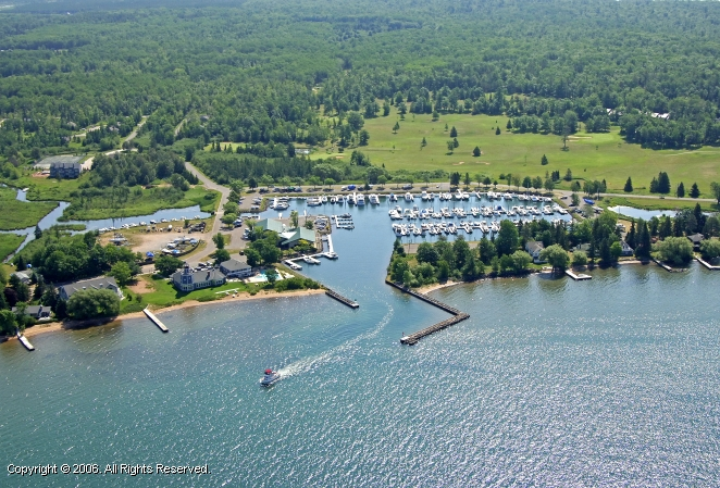 Madeline Island Yacht Club In La Pointe Wisconsin United