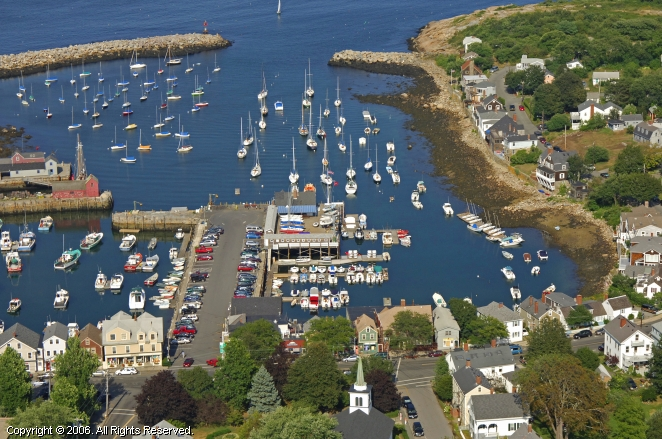 Sandy Bay Yacht Club In Rockport Massachusetts United States