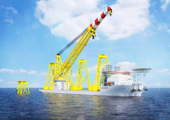 Jan De Nul Orders Offshore Installation Vessel