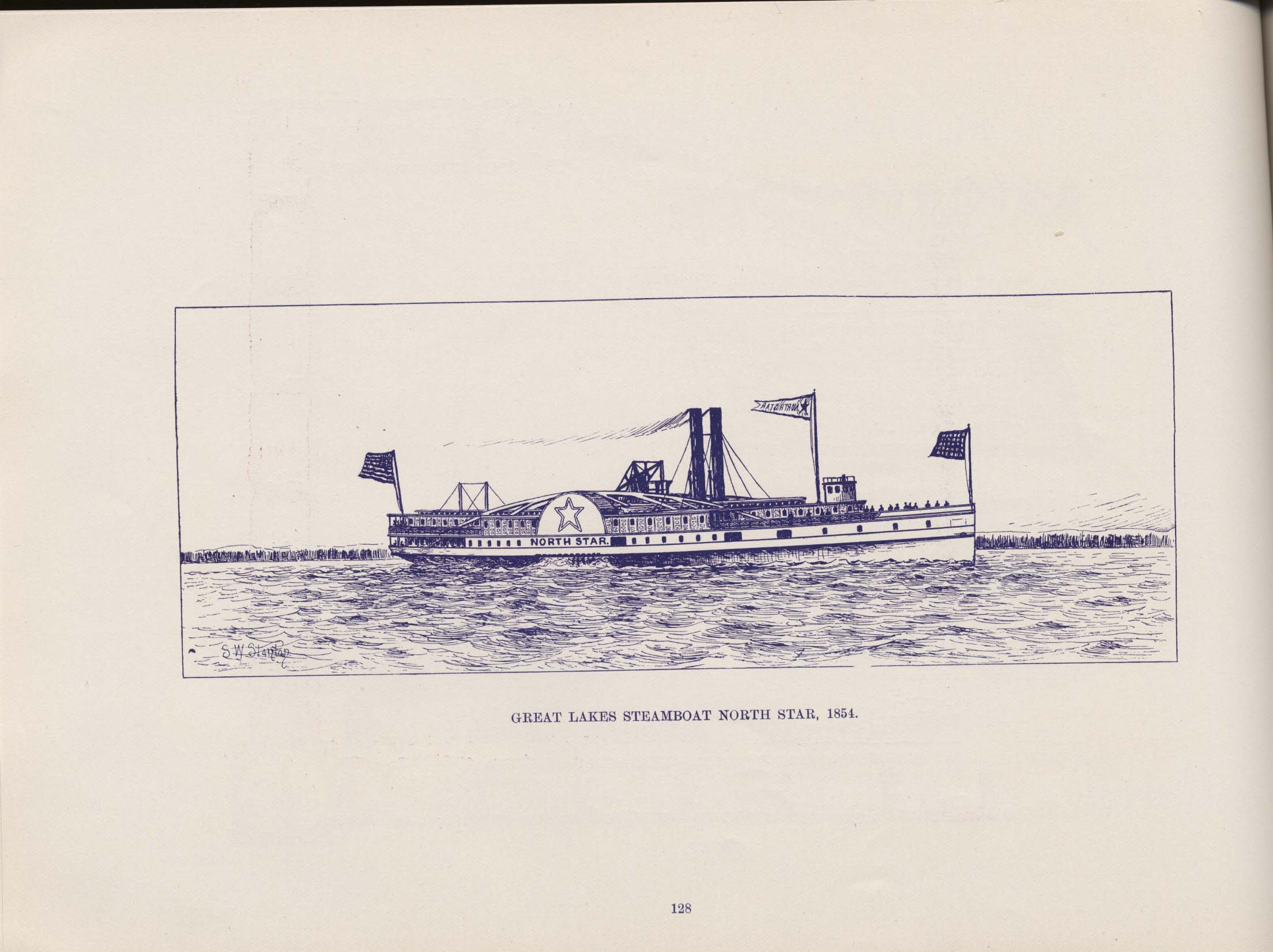 American Steam Vessels 1895 P 128 Maritime History Of